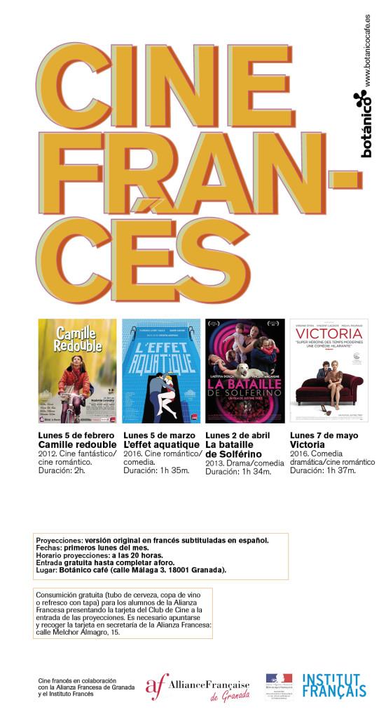 BOTANICO CINE FRANCES FLYER-Z